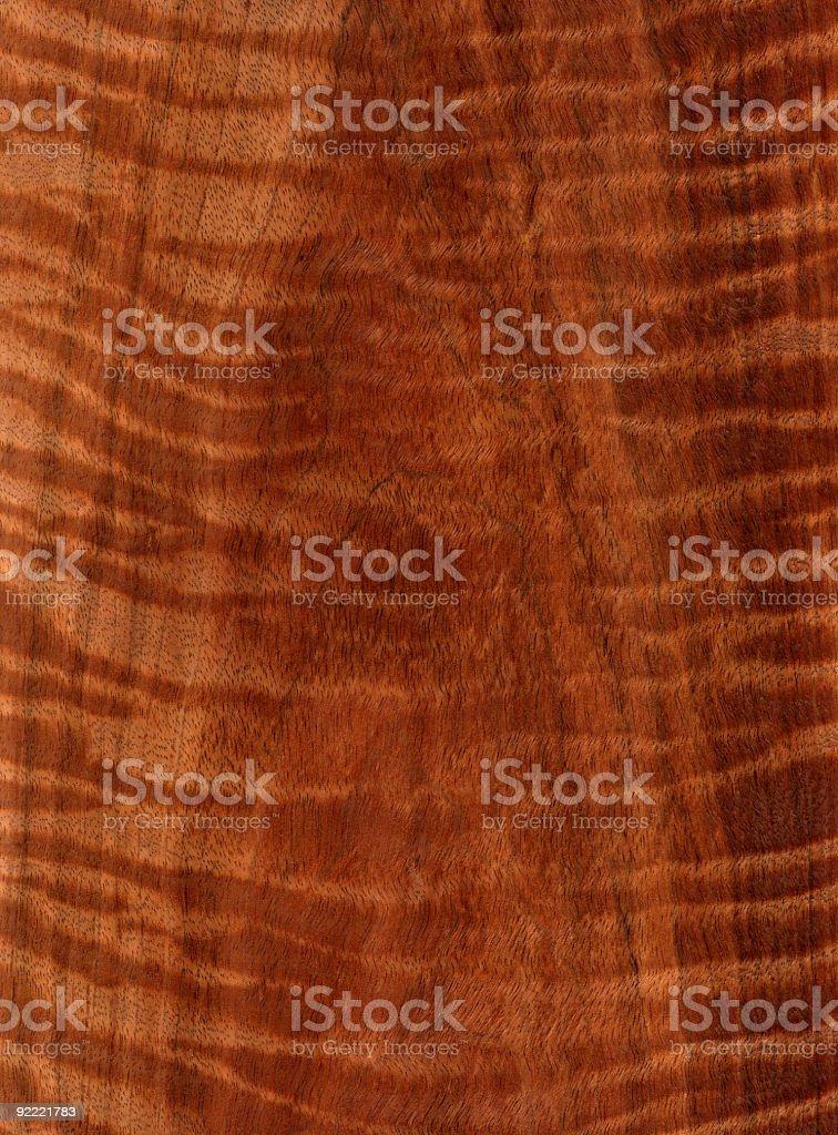 Curly Koa - Wood Texture Series stock photo