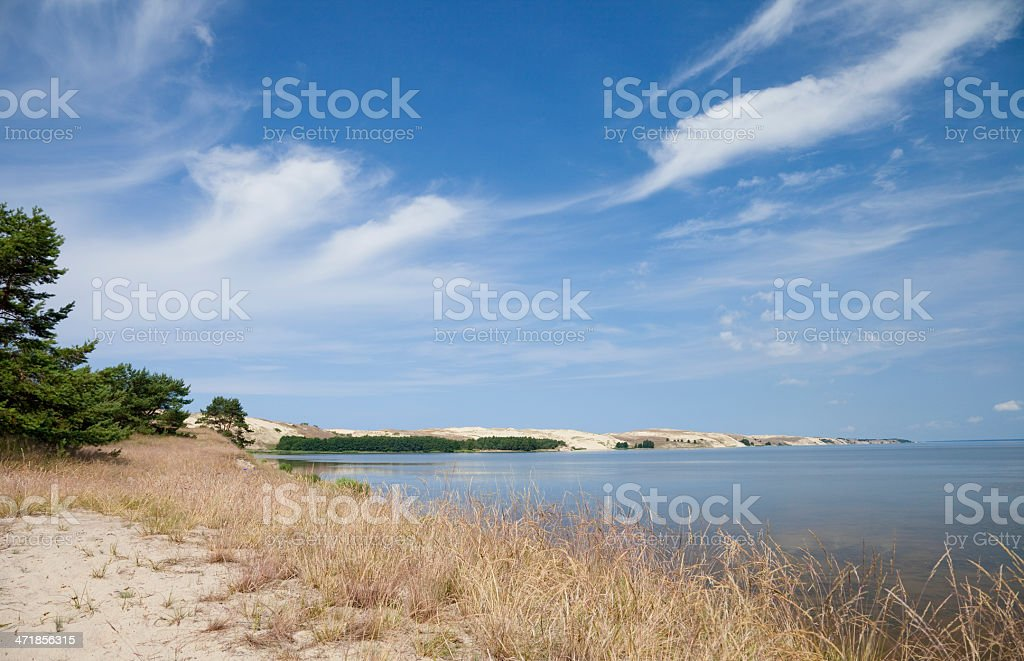 Curonian Spit royalty-free stock photo