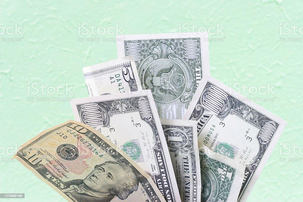 US Currencies stock photo