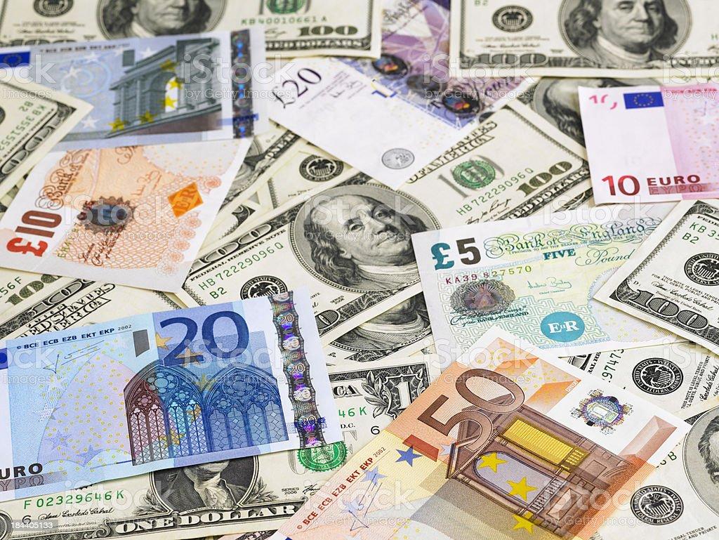 Währungen Lizenzfreies stock-foto