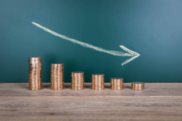 Currency Depreciation Currency Depreciation depreciation stock pictures, royalty-free photos & images