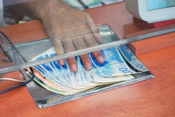 Wechselstube. Finanzen-Konzept. – Foto