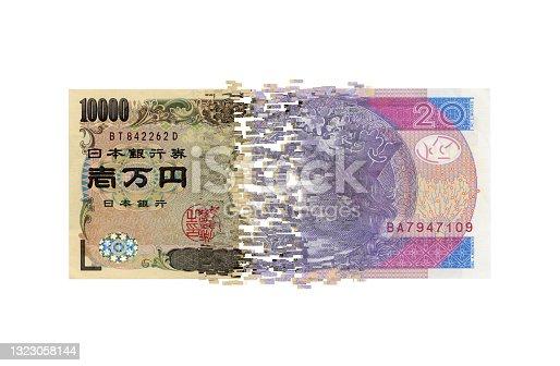 istock Currency exchange 1323058144