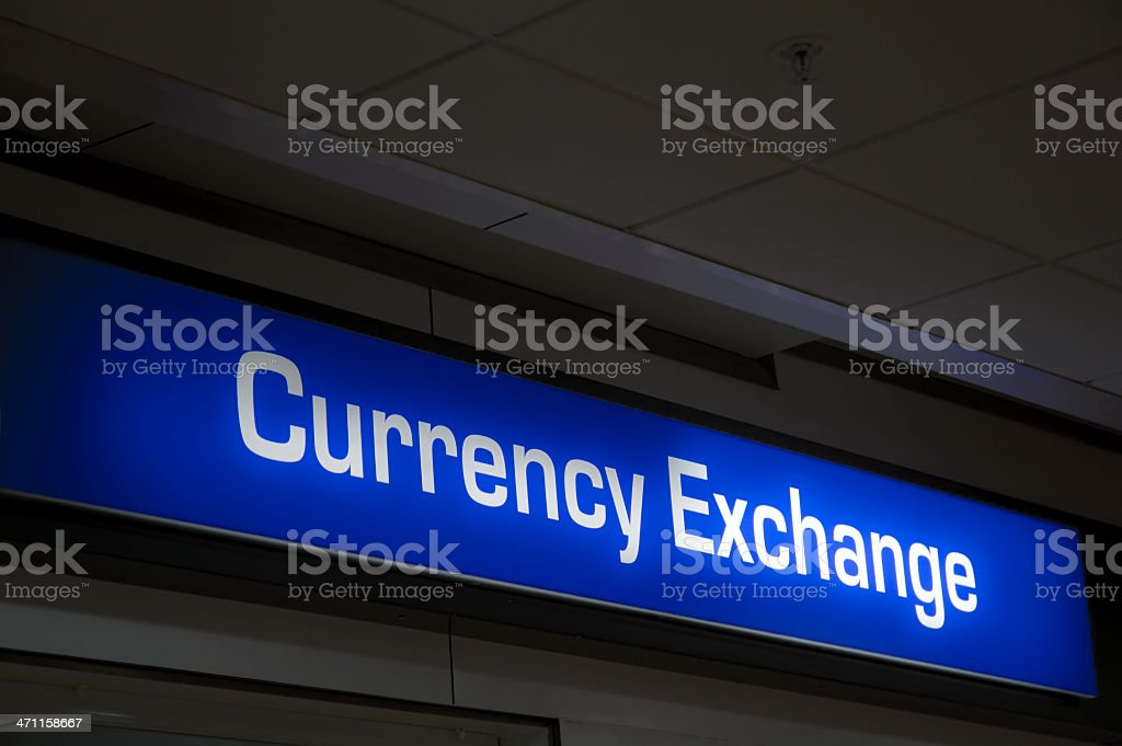 Currency Exchange royalty-free stock photo