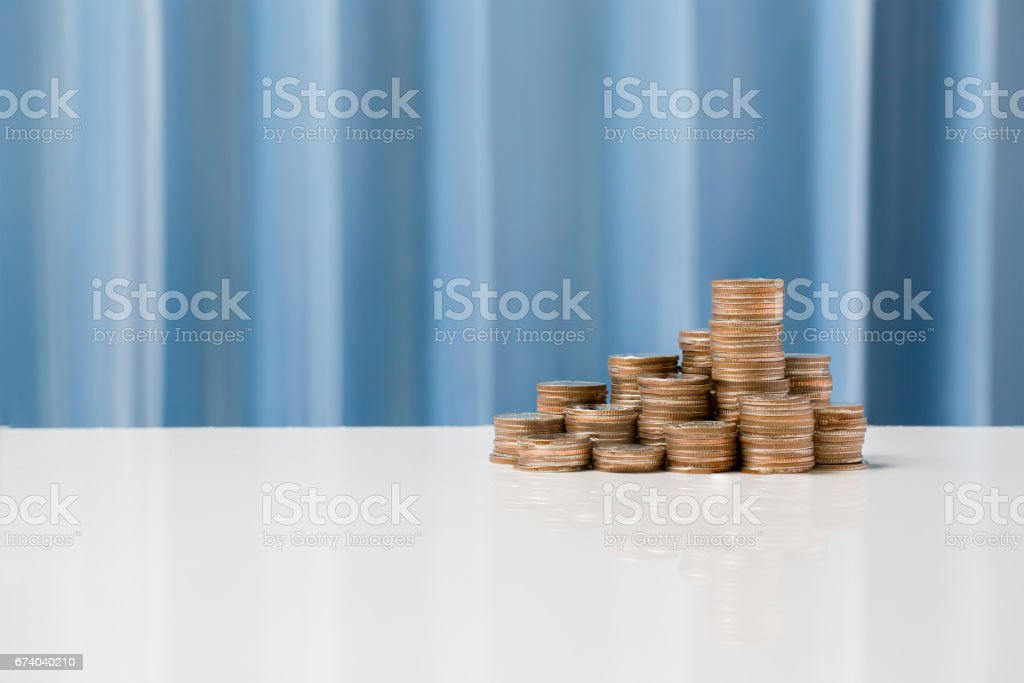 Currency exchange rates concept, money currency THB Thai baht. royalty-free stock photo