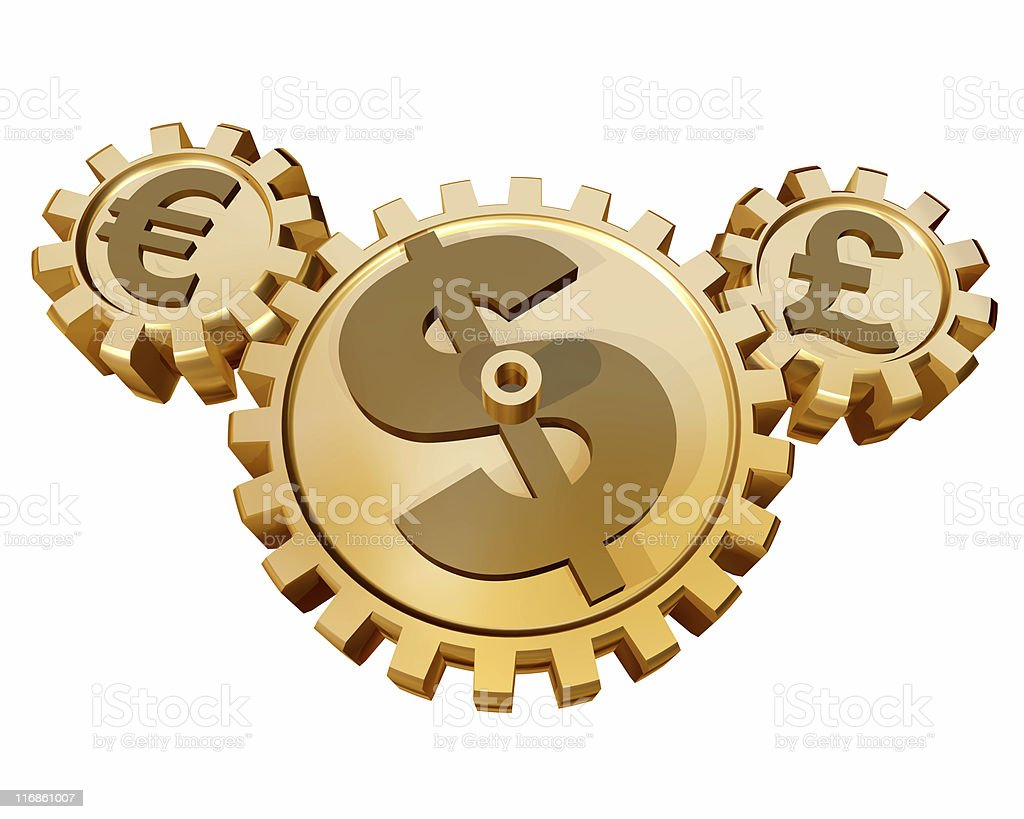 Currency Market royalty-free stock photo