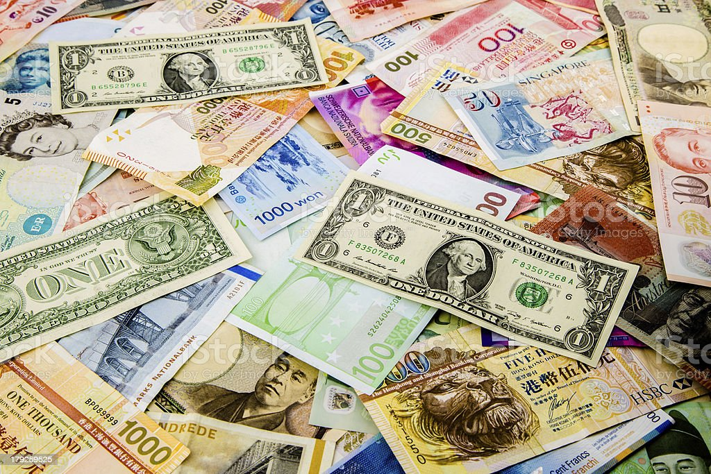 Currency paper royalty-free stock photo