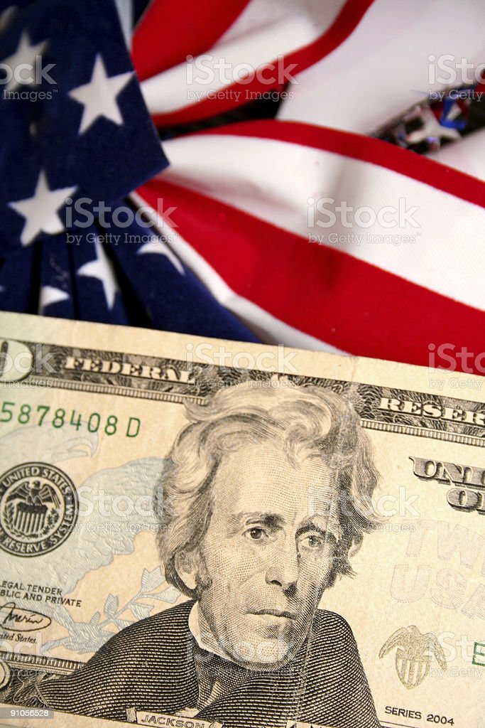 US Currency royalty-free stock photo