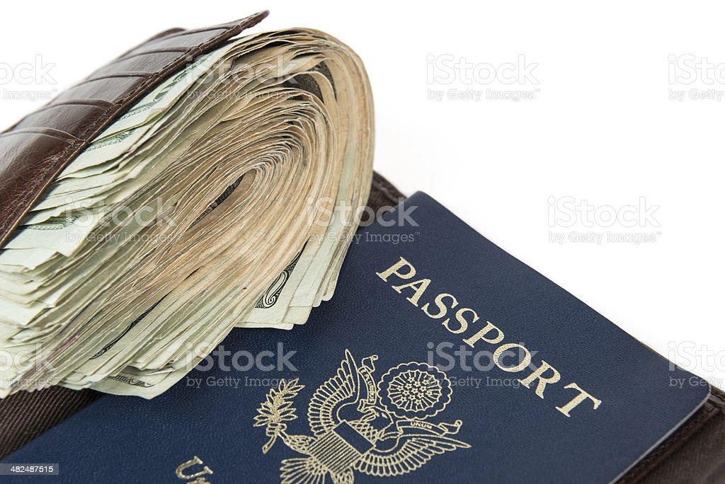 Currency Travel Concept royalty-free stock photo