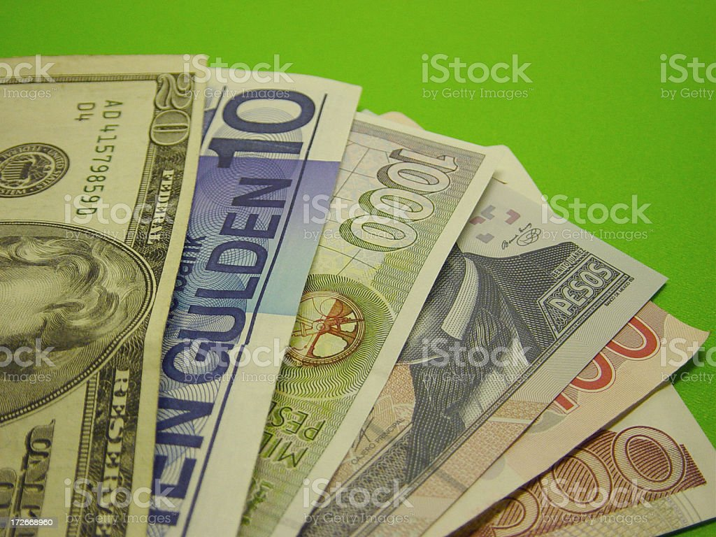 currency2 stock photo