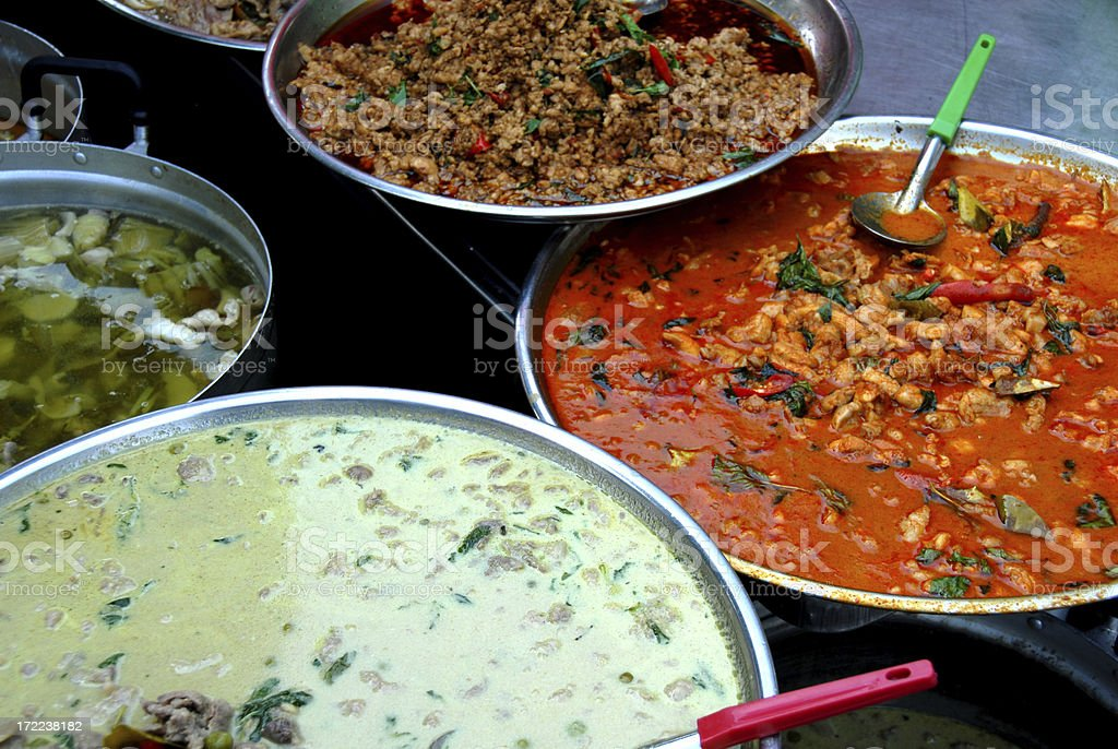 Curries royalty-free stock photo