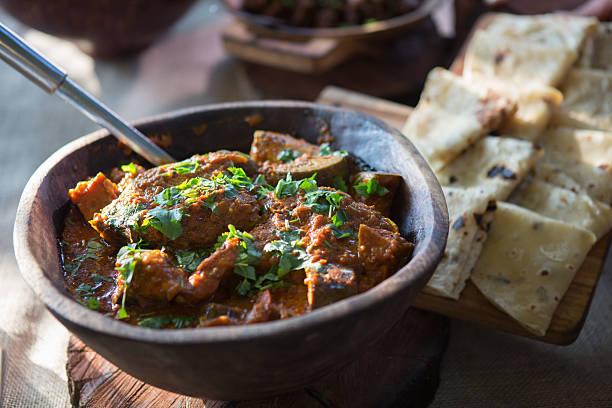 curry e rooti - caril - fotografias e filmes do acervo