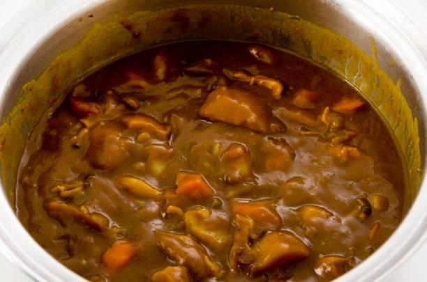 鍋のカレー - カレー ストックフォトと画像