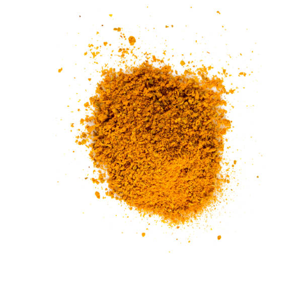 curry powder isolated on white background curry powder isolated on white background curry powder stock pictures, royalty-free photos & images