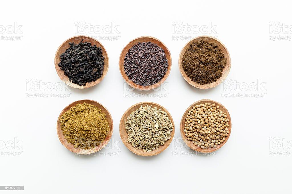 Curry Powder Mustard Seeds Garam Masala Anise Fenugreek Stock Photo Download Image Now Istock