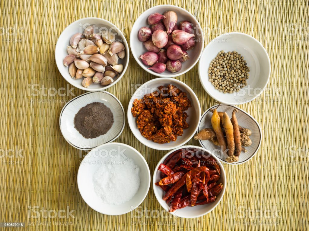 Curry Raw Material royalty-free stock photo