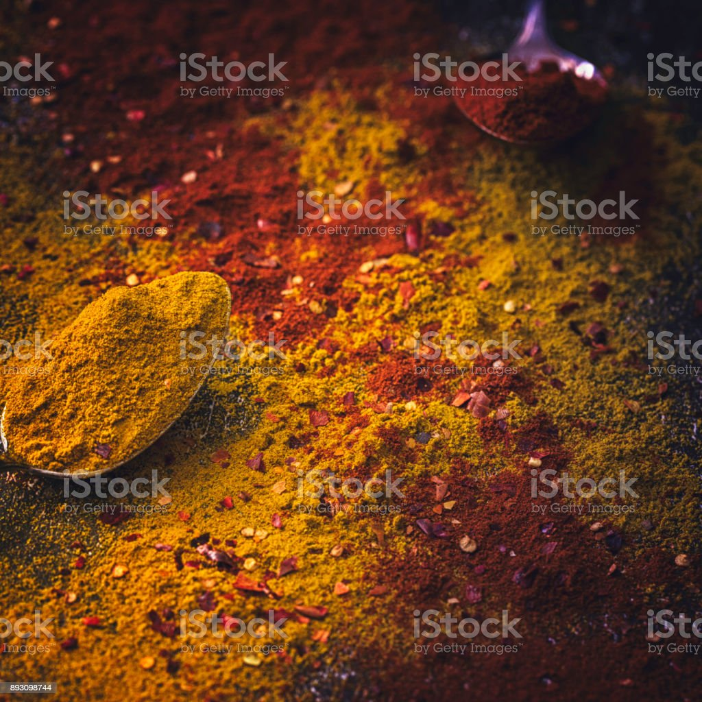 Curry Spice Mix Stock Photo - Download Image Now