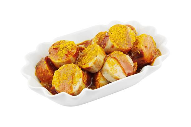 currywurst - currywurst stock-fotos und bilder