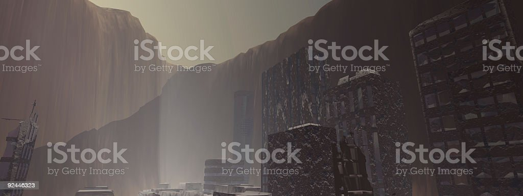 Cursed Earth stock photo
