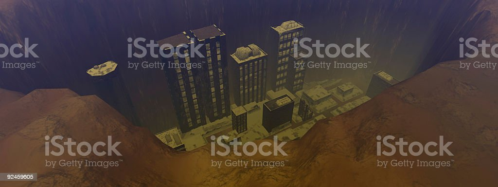 Cursed Earth Version 4 stock photo