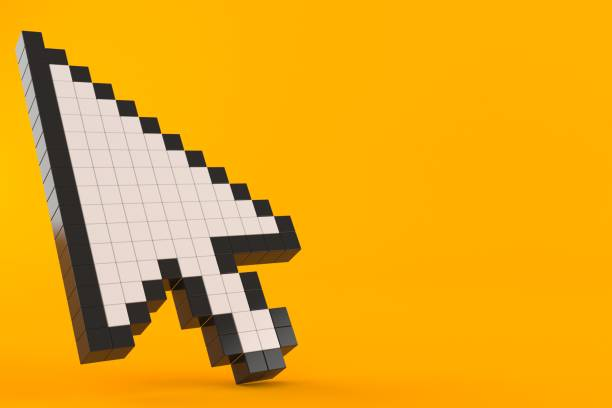 cursor icon - mouse pointer stock photos and pictures
