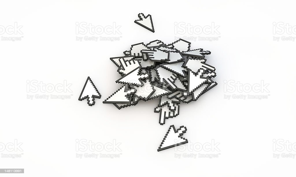 cursors stock photo