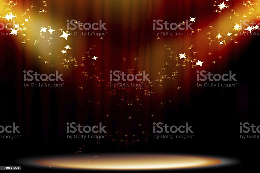 Curtain background stock photo
