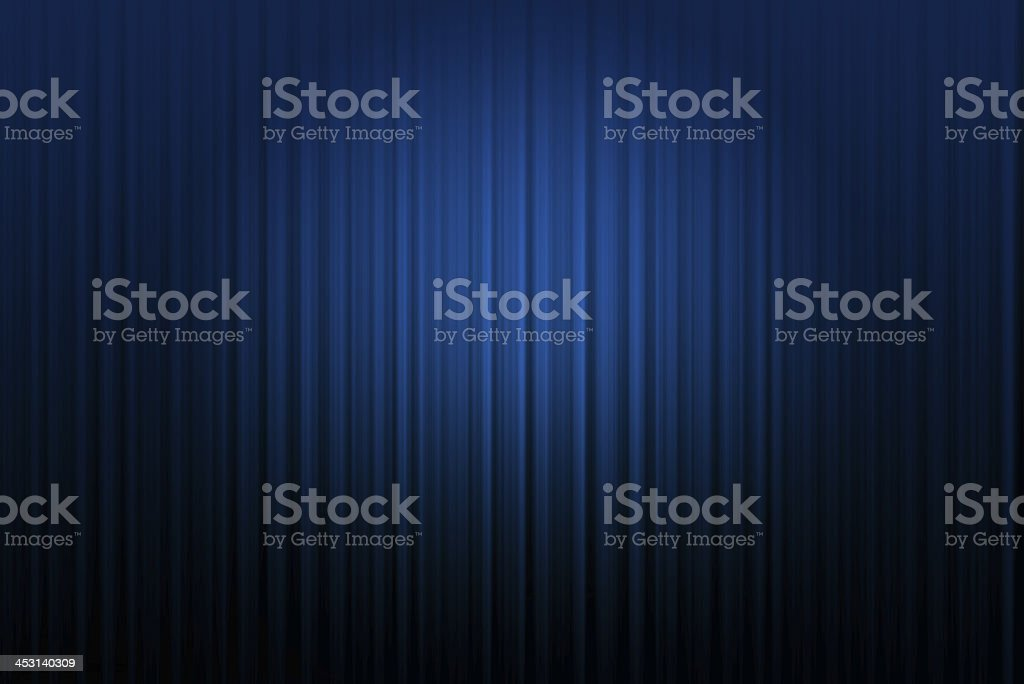 Curtain blue  background stock photo