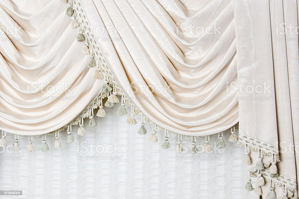 Curtain Detail royalty free stockfoto