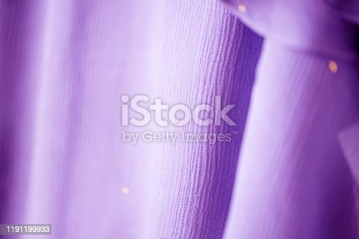 1164401366 istock photo A curtain or clothes of the pink purple and sunshine. 1191199933