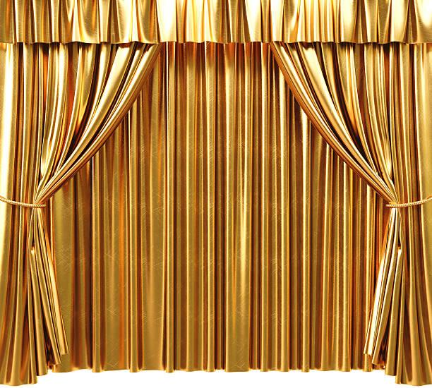 curtain stock photo