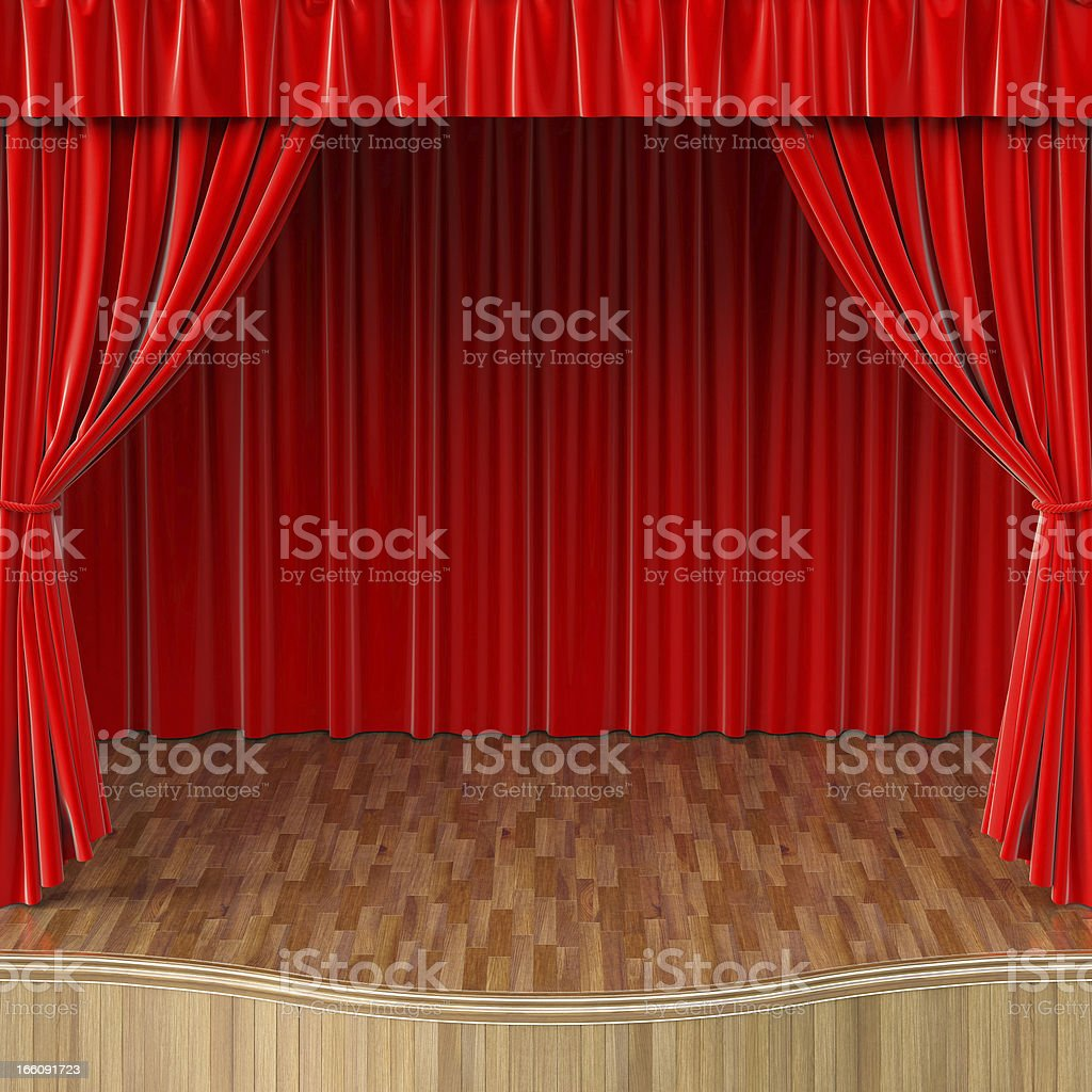 curtain royalty-free stock photo