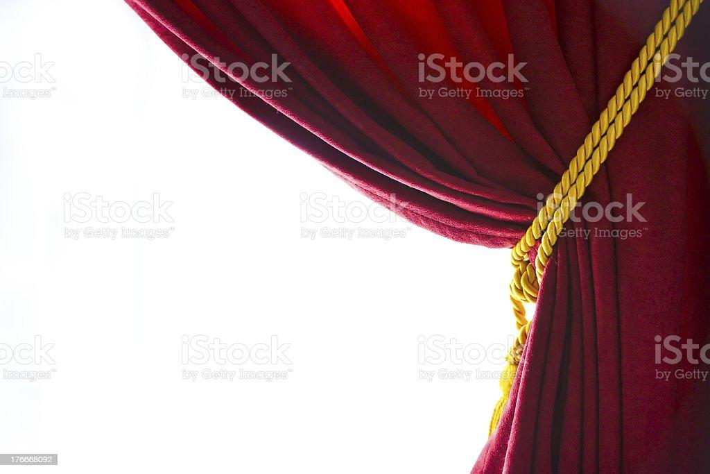 Curtain royalty-free stock photo