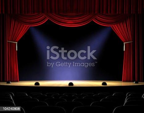 istock Curtain Up 104240908