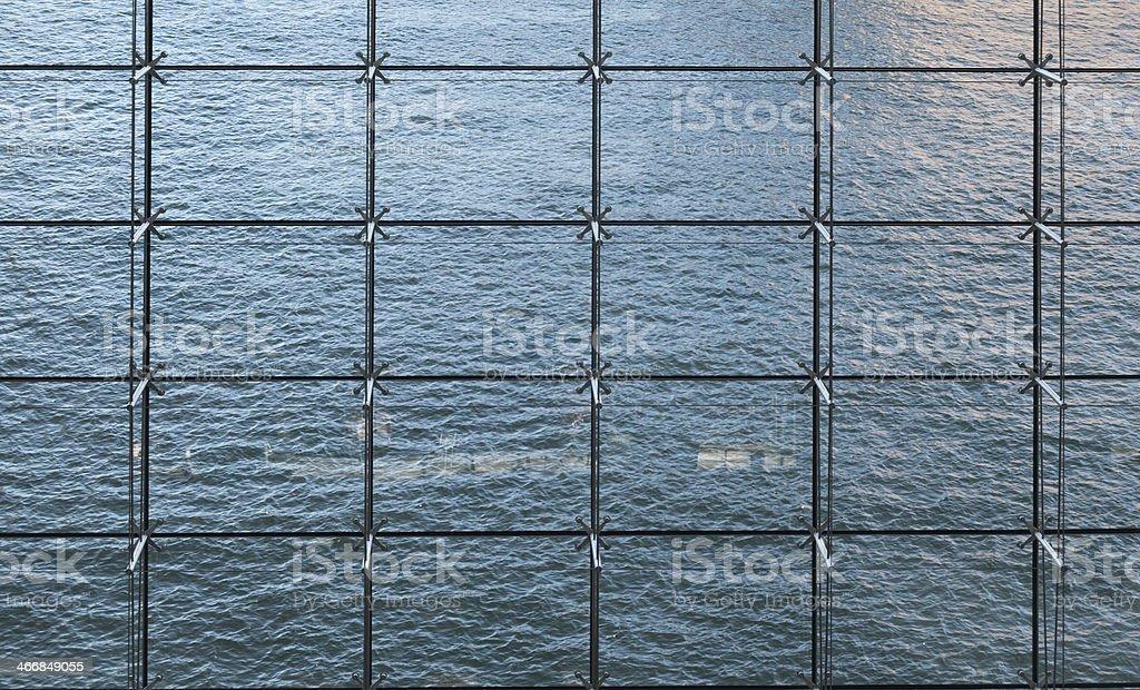 Curtain wall stock photo