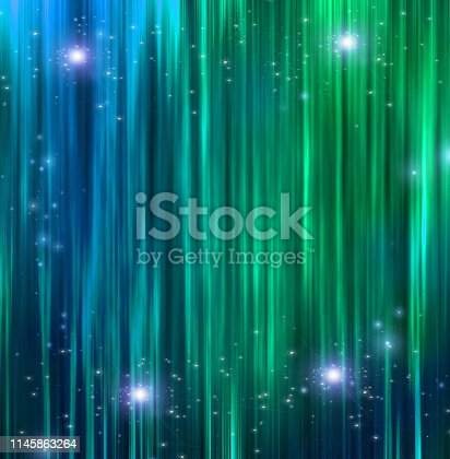 istock Curtains with Sparkle 1145863264