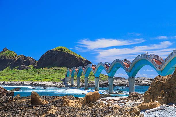 Curve bridge. - Photo