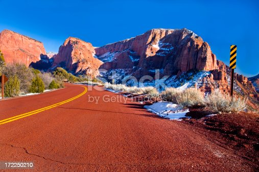 istock Curve in the Road. 172250210
