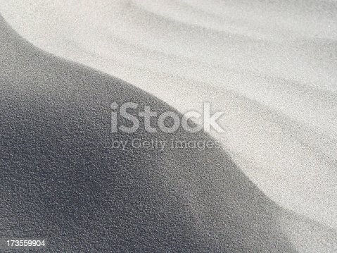 curve of sand