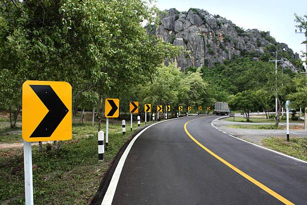 Kurve road – Foto