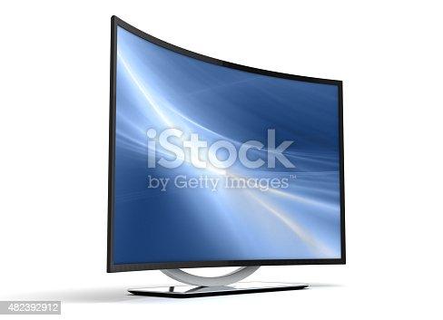 istock Curve TV 482392912