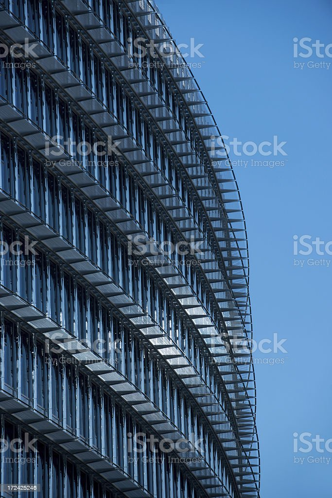 Curved building royalty-free stock photo