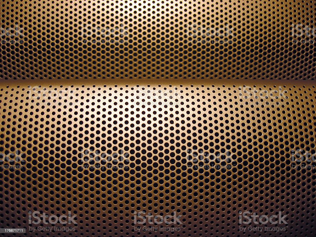 Curved Dimples royalty-free stock photo