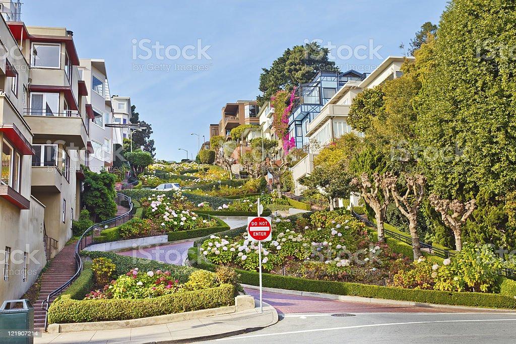 Lombard Street in San Francisco – Foto