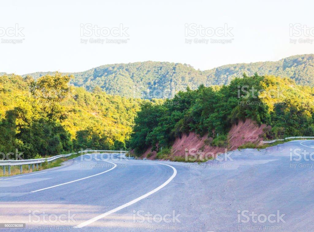 eğimli yol arka plan deseni stok fotoğrafı