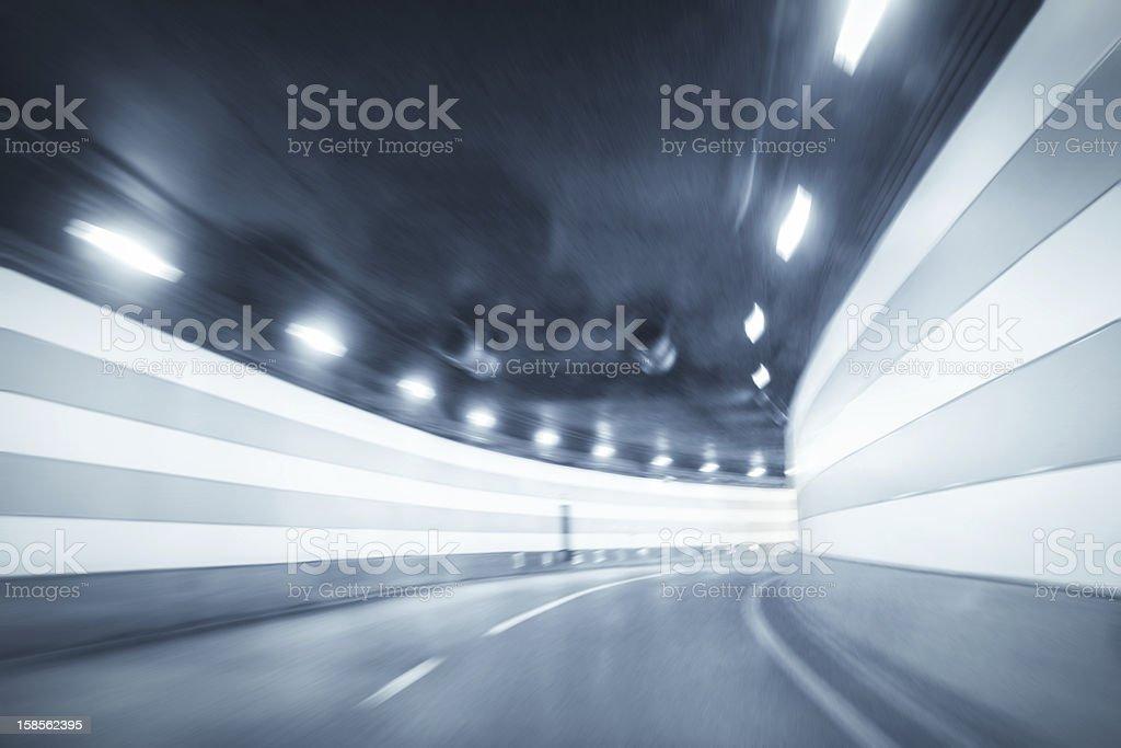 곡선형 터널 배경기술 royalty-free 스톡 사진