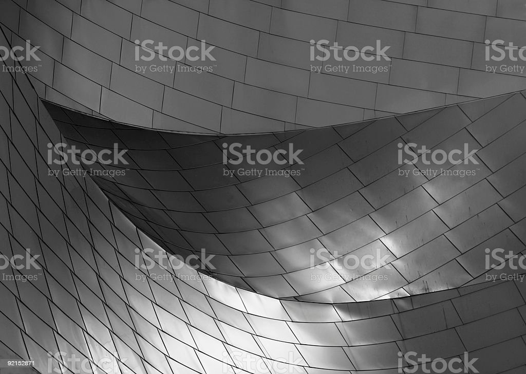 curves, Chicago stock photo