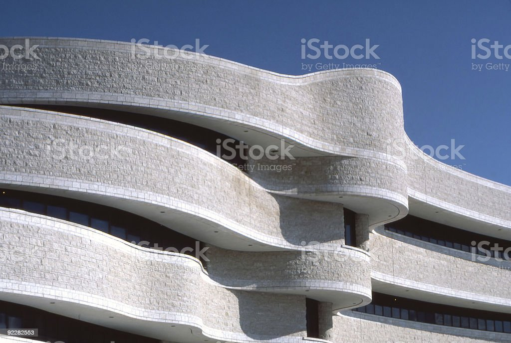 Curves of Civilization stock photo