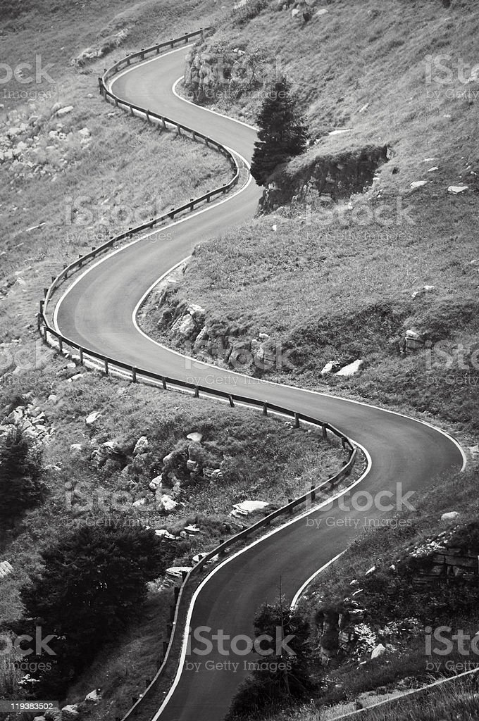 Curves royalty-free stock photo