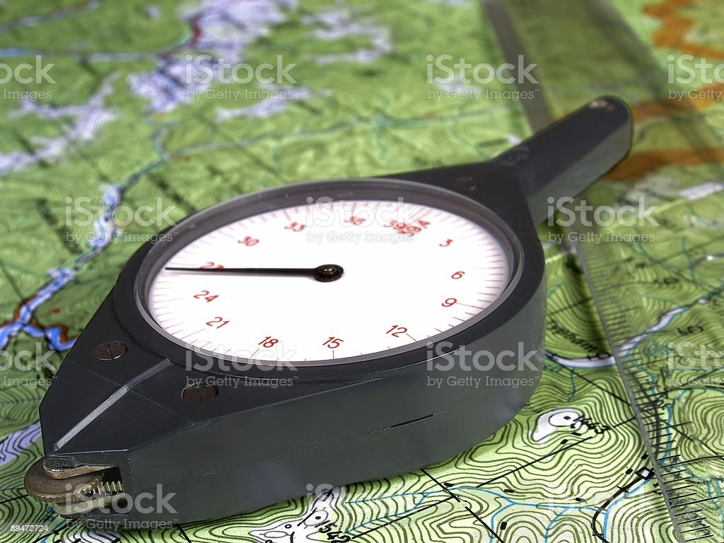 Curvometer foto stock royalty-free